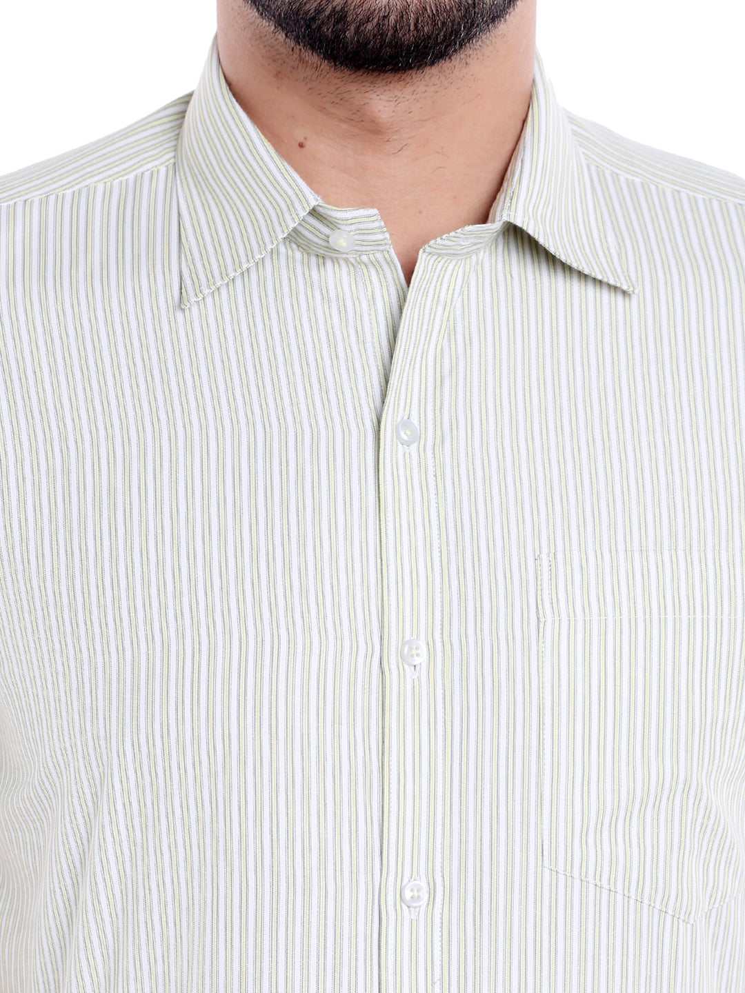 ZIDO Blended Striped Shirt for Men's SH5141