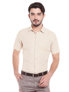 ZIDO Blended Striped Shirt for Men's SH5148