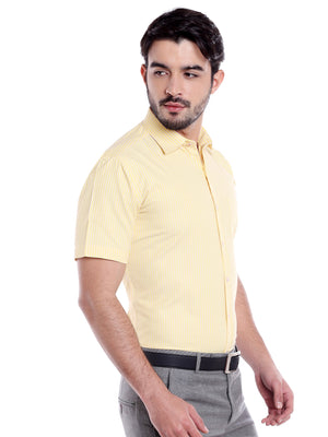 ZIDO Blended Striped Shirt for Men's SH5152