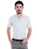 ZIDO Blended Striped Shirt for Men's SH5156