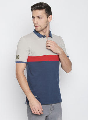 ZIDO Solid Men's Polo Neck T-Shirt TPOL601