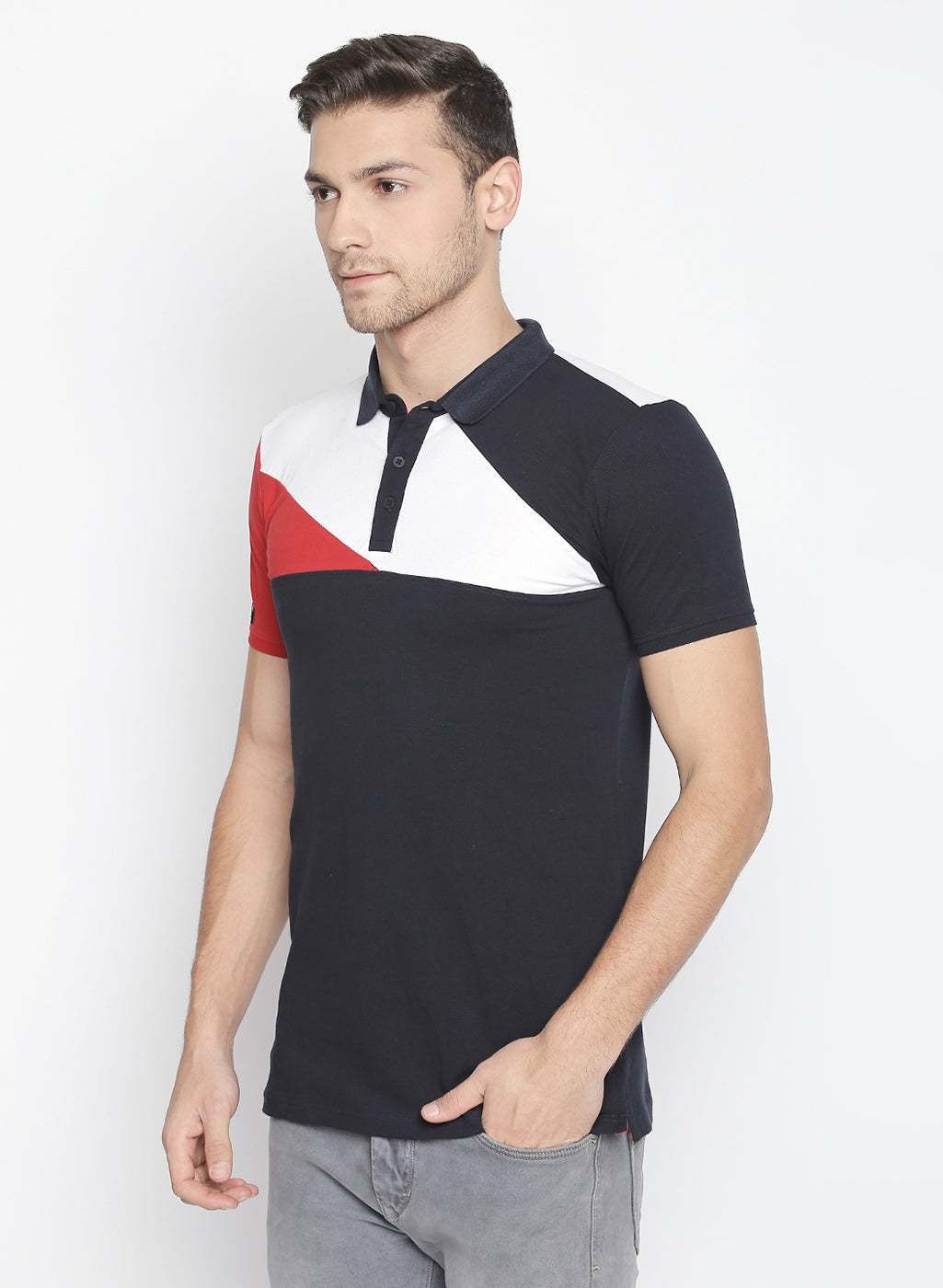 ZIDO Solid Men's Polo Neck T-Shirt TPOL603