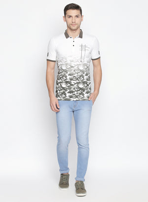 ZIDO Printed Men's T-Shirt TPRT605