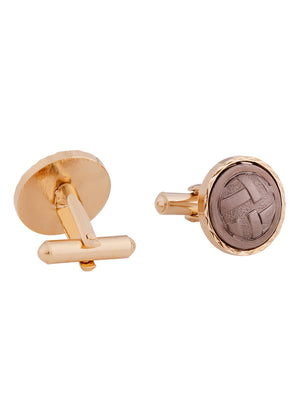 Zido  Cufflink for Men CNKNBTI