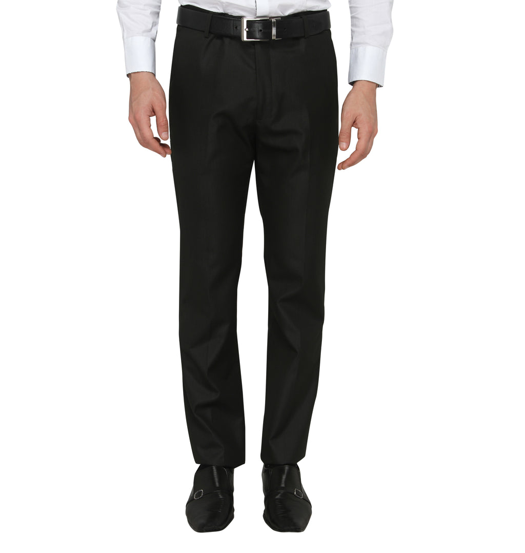 Zido Men'S Slim Fit  Formal Trouser ZI15074