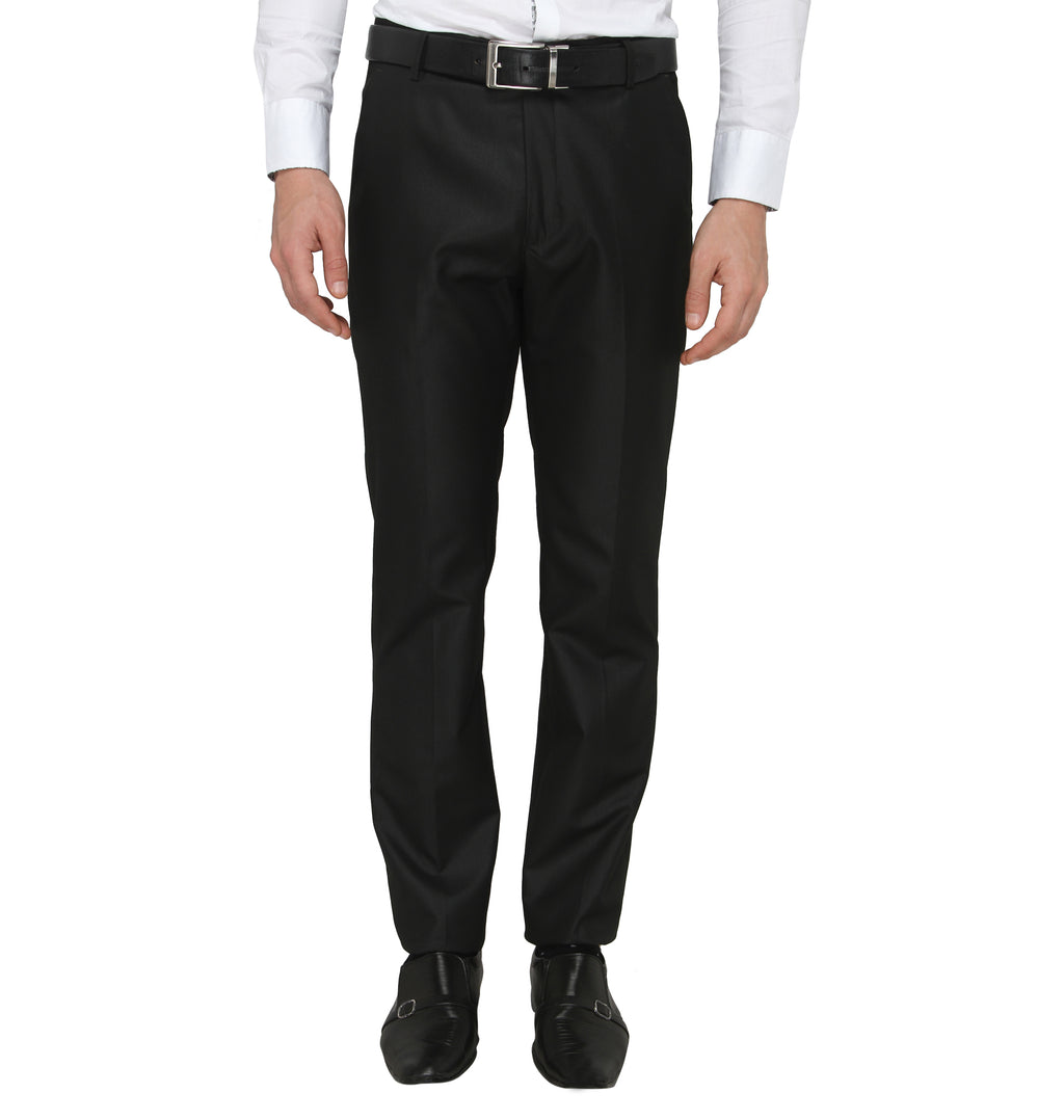 Zido Men'S Slim Fit  Formal Trouser ZI15072