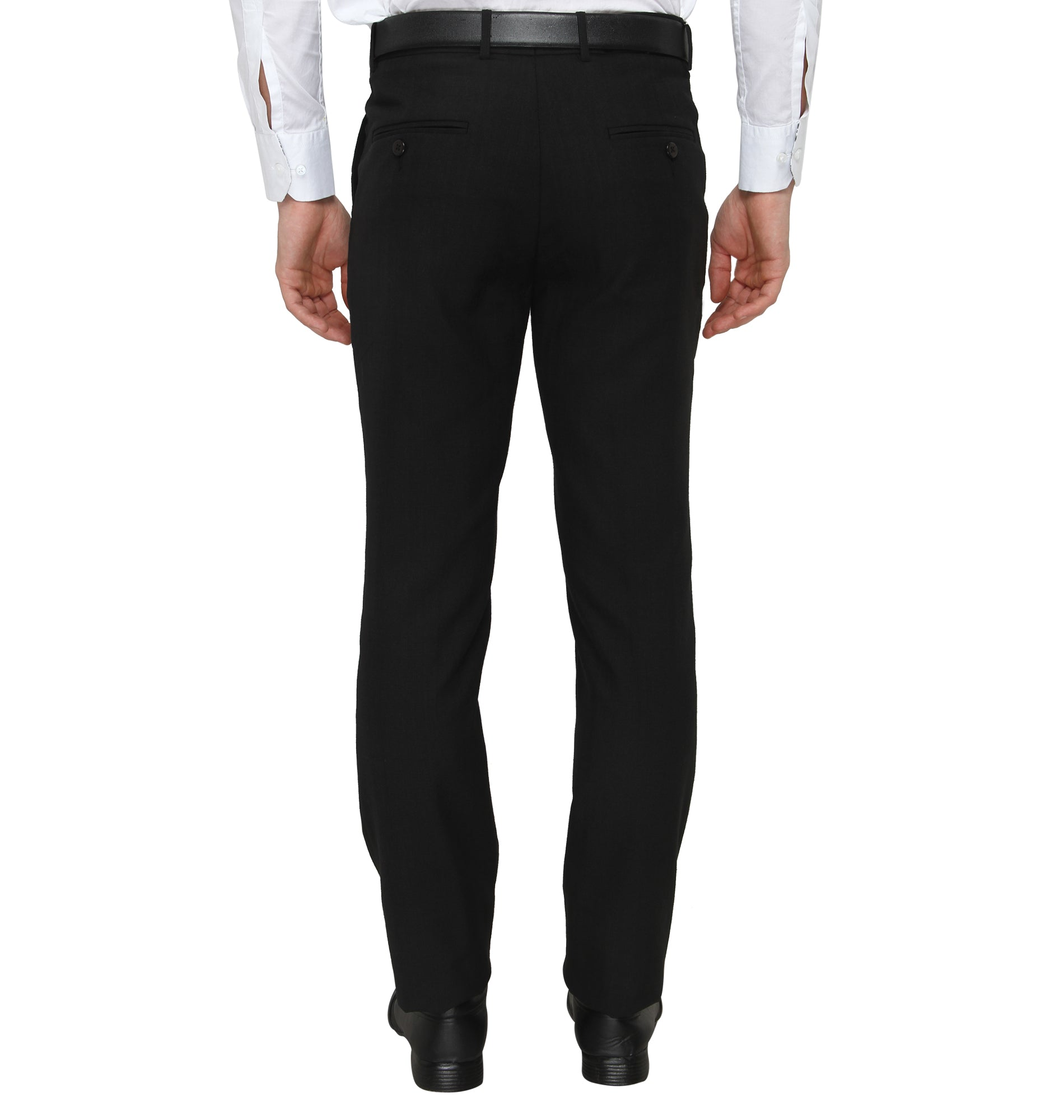 Zido Men'S Slim Fit  Formal Trouser ZI15079
