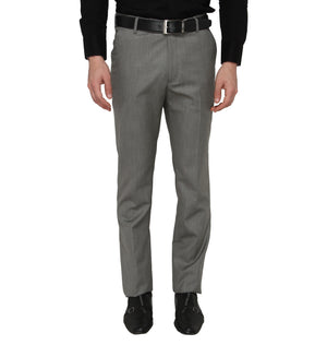 Zido Men'S Slim Fit  Formal Trouser ZI15076