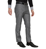 Zido Men'S Slim Fit  Formal Trouser ZI15075