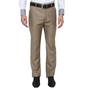 Zido Men'S Slim Fit  Formal Trouser ZI15070
