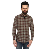 ZIDO COTTON Checkered Shirt for Men's BTCH1361