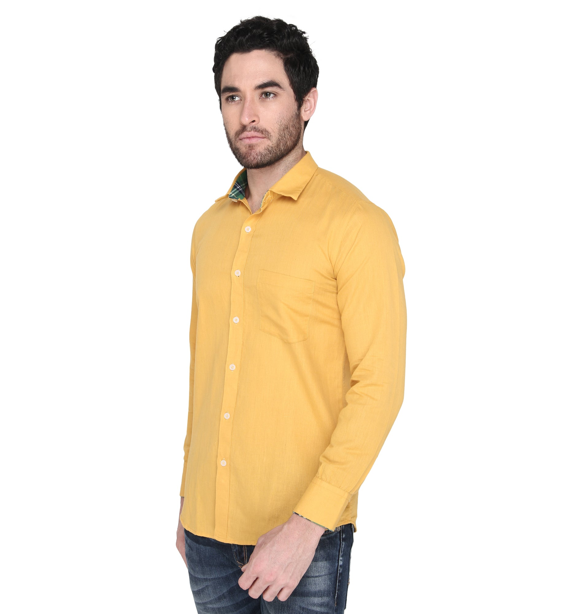 ZIDO cotton Solid Shirt for Men's CNLN1376