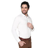ZIDO cotton Solid Shirt for Men's GZ1385