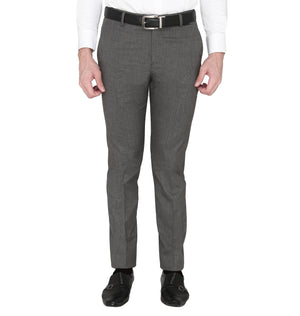 Zido Men's Slim Fit Regular  Formal Trouser - Pant ZI15085