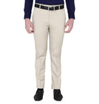 Zido Men's Slim Fit Regular  Formal Trouser - Pant ZI15087