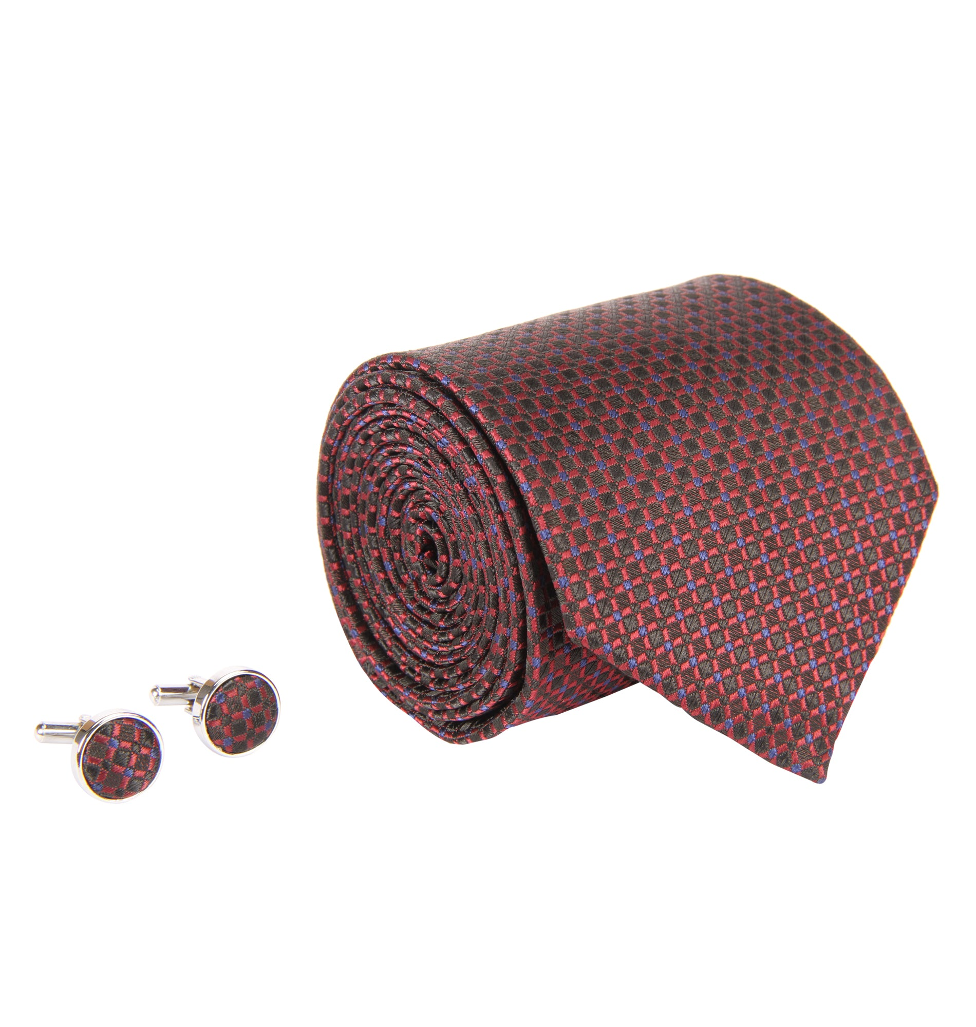 ZIDO Tie Cufflink Combos for Men TNC057