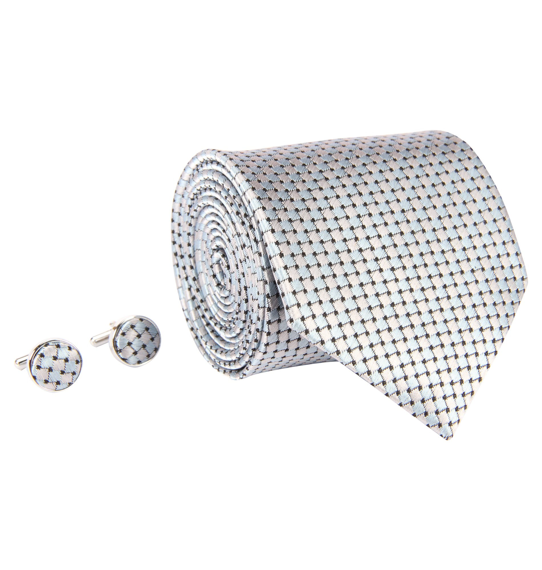 ZIDO Tie Cufflink Combos for Men TNC065