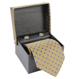 ZIDO Tie Cufflink Combos for Men TNC060