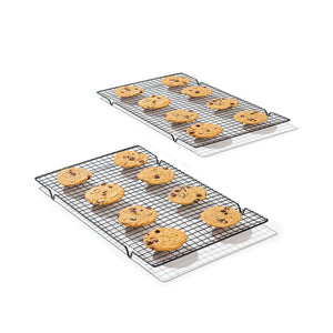 Nonstick Baking Cooling Rack Grid - Bakers Essential Tool (25*40cm)