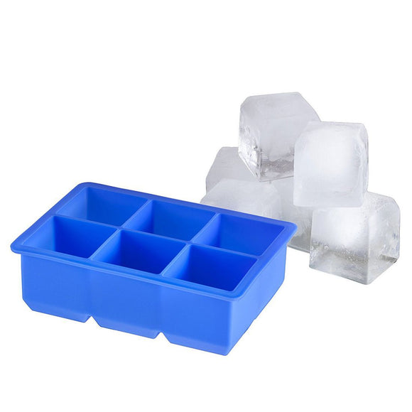 Set of 2 x Large Silicone Ice Cube Cocktail Rock Makers