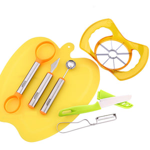 The Ultimate Summer 7 Pc Fruit Gadgets and Tools Kit for the Kitchen