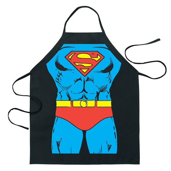 Hero Anime Cartoon Kitchen Cooking Apron (Super Man)