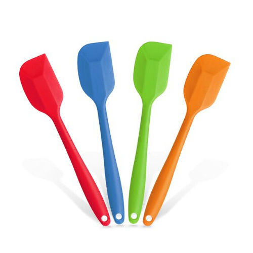 Silicone Brush Sugarcraft Spatula Mixing Batter Butter Scraper Baking (Big Size)