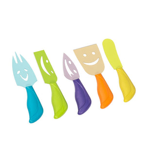 Colourblocking Cheese Serving Set