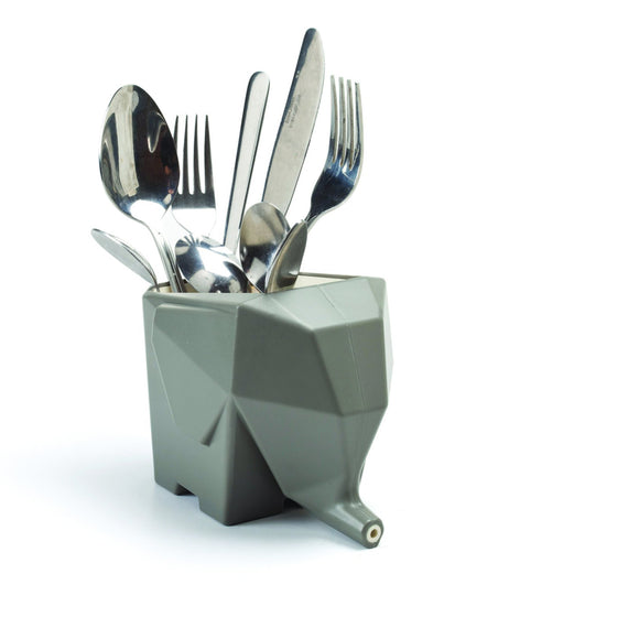 Super Smart Elephant Sink Draining Cutlery Holder