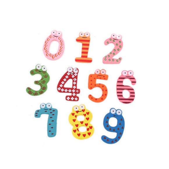 Fridge Magnet Numbers & Symbols 10pcs/Set