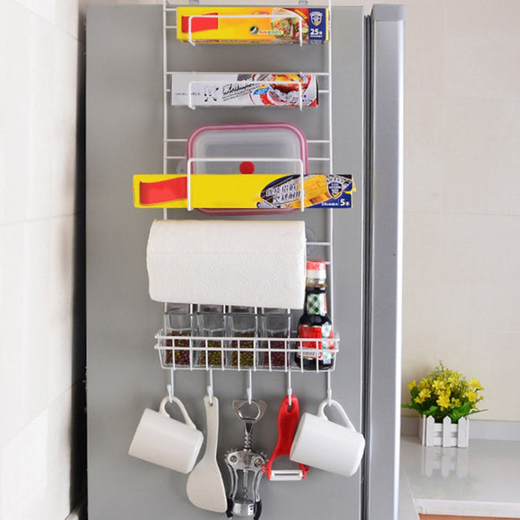 Smart Over the Fridge Rack Storage Organiser for the Kitchen