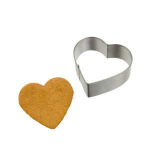 Stainless Steel Heart Shape Cookie Cutter Cake Baking Biscuit Pastry Mould
