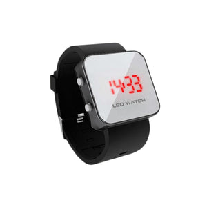 SOFTech - LED Mirror Silicone Watch
