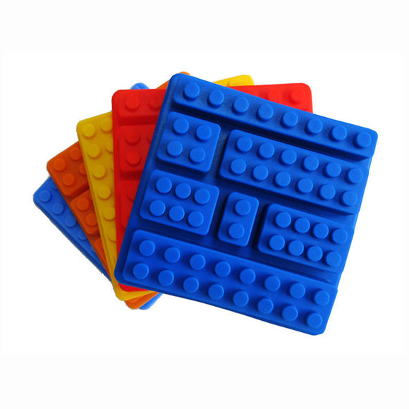 DIY Mixed Block Set Lego Mould Ice Choc Cube Tray