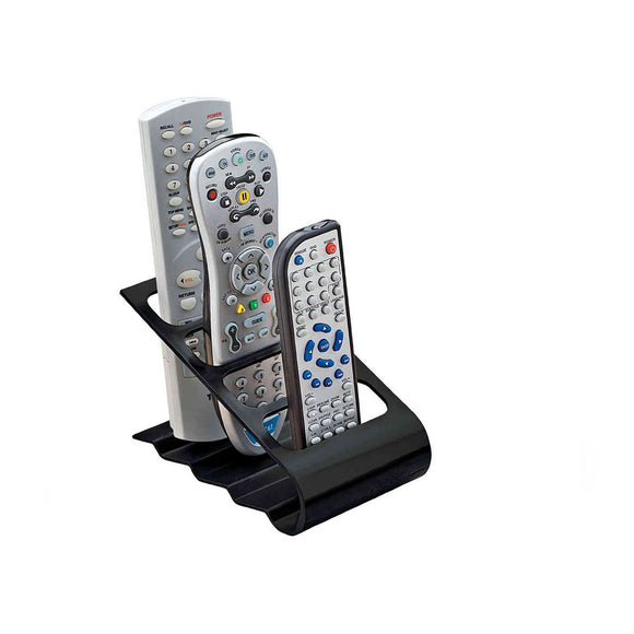 V DVD VCR Remote Control Mobile Cell Phone Holder Stand Storage Organizer