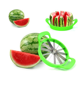 Creative Watermelon Slicer Fruit Cutter Cantaloupe Knife