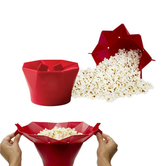 Microwave Silicone Popcorn Maker Popcorn Poppers
