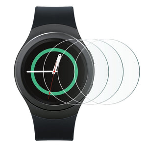 Samsung Gear S2 Tempered Glass Screen Protector (Pack of 3)