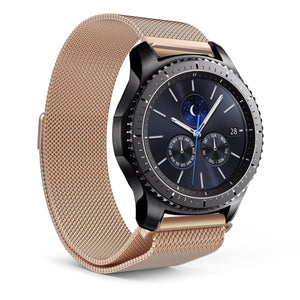 Samsung Gear S3 Milanese Magnetic Loop Stainless Steel Watch Strap