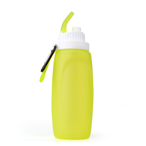 HydraFlex - Portable Collapsible BPA Free Silicone Flexible Sports Drink Bottle