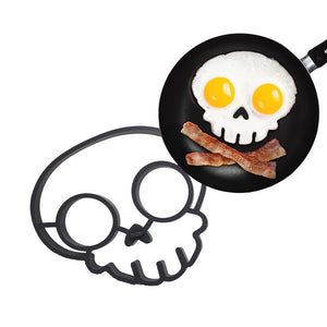Fried Egg Skull Shape Mould