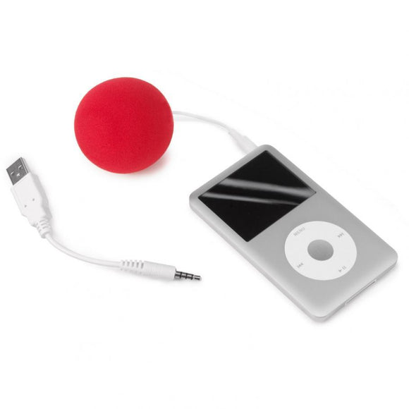 Portable Sponge-Sphere Battery-Free Balloon Speaker