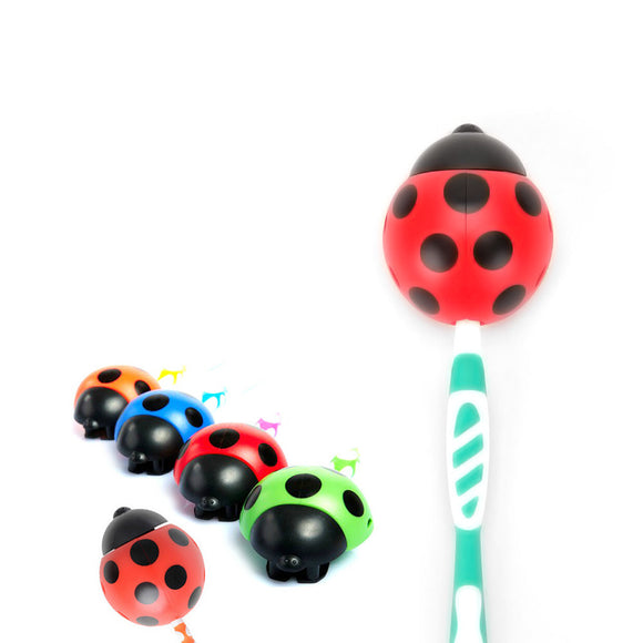 Lady Beetle Toothbrush Holder Suction Cup