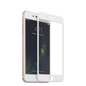White For iPhone 8 Plus/7 Plus 5.5 inch Tempered Glass 3D Full Screen Protector