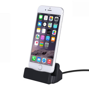 iPhone Charger Docking Station Charge And Sync Stand iPhone 7/7Plus iPhone 6/6Plus/6S iPhone 5/5Plus