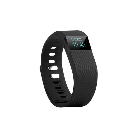 Smart Watch Z-64 Fitness Tracker Water Resistant Sports Bracelet - Pedo/ Sleep Monitor/Call Remind/Clock/Remote Camera/Ant-Lost Function-iOS & Android