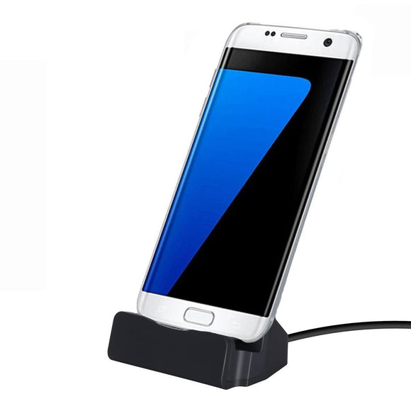 Micro USB Dock Charge Cradle Docking Station Samsung Galaxy S7 S7 Edge S6 S6 Edge