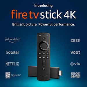 Amazon fire tv stick 4K with 3rd Hen alexa voice remote + AU power supply