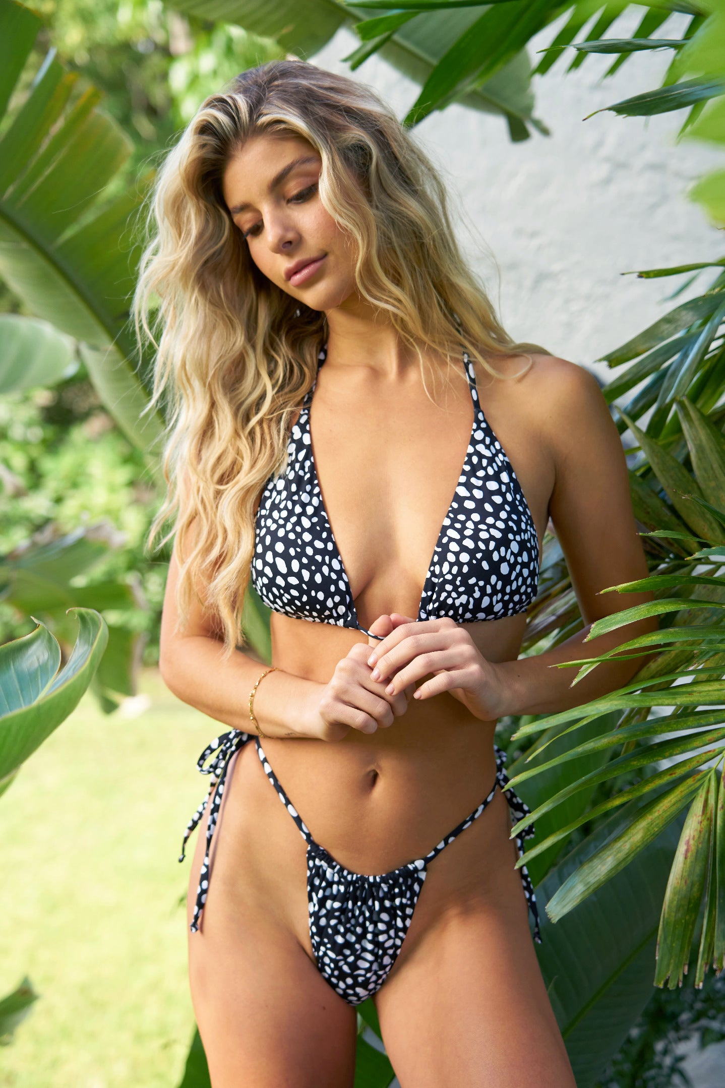 The Ora Side-Tie Bikini Set