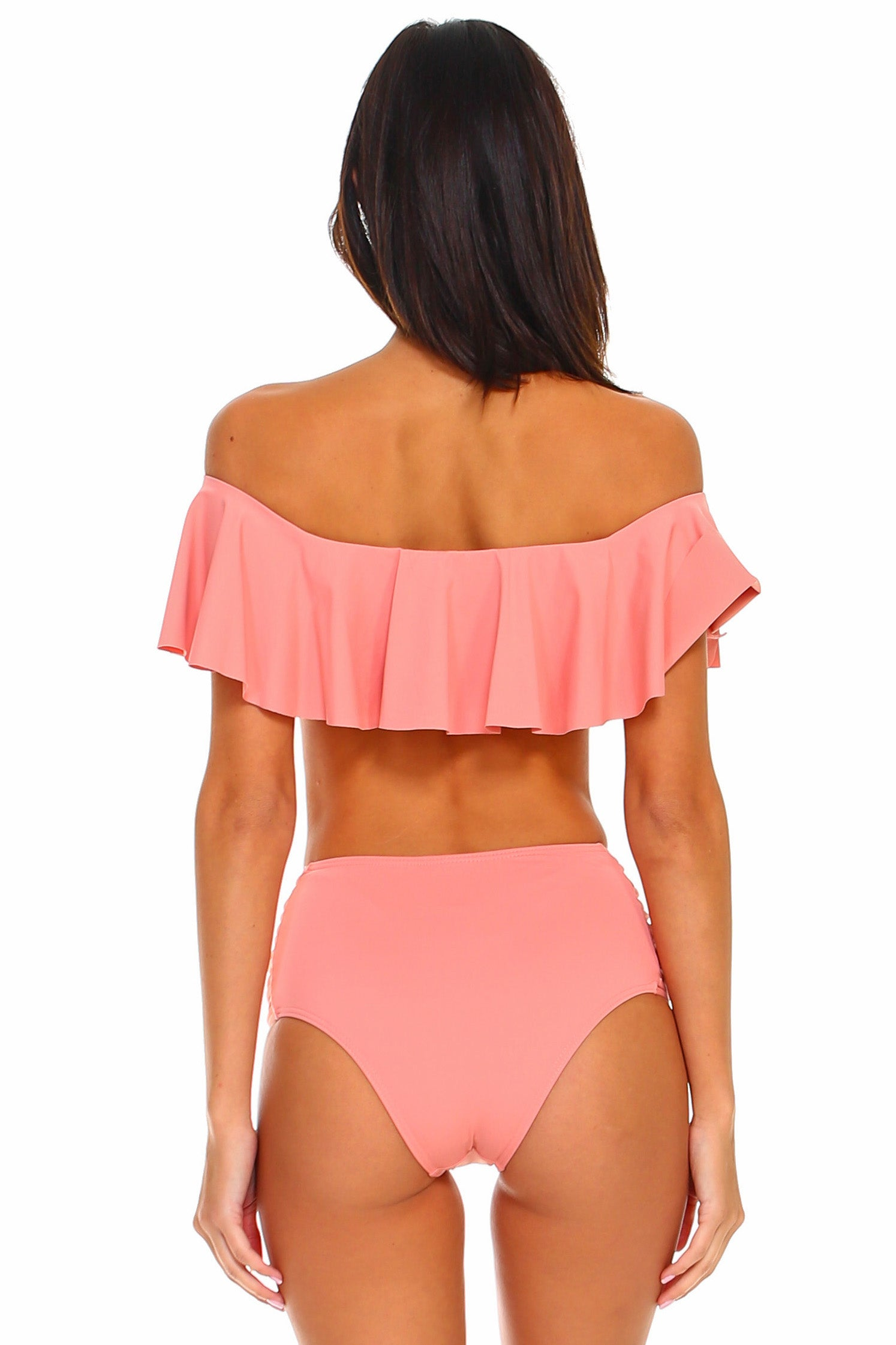 Belle Off-the-Shoulder Bikini Set